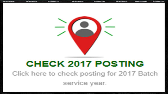 National Service Registration And Placement-Check-posting