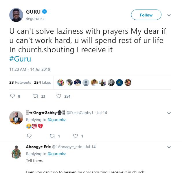Guru Tweet
