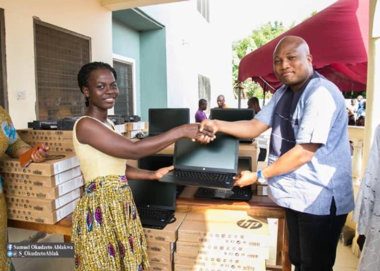 Okudjeto Ablakwa Donates