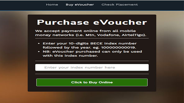 BECE Purchase-voucher