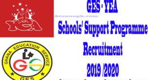 YEA-Schools SupportProgramme Application Procedures