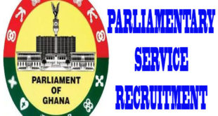 Parliamentary-Service-of-Ghana-Recruitment