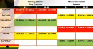 GES Ghana Learning Radio Reading Programme Check Timetable And Station sheddule