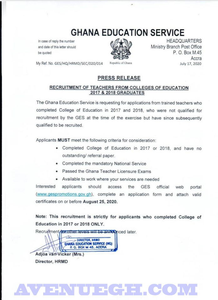GES-Recruitment-Of-2017-And-2018-Teachers-New